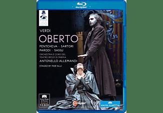Pentcheva/Sartori, Allemandi/Pentcheva/Sartori/Parodi - Oberto  - (Blu-ray)