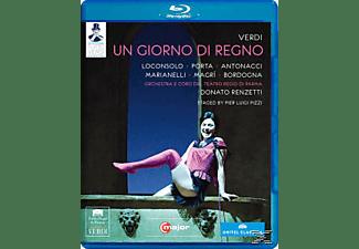 Loconsolo/Antonacci, Renzetti/Loconsolo/Porta/Antonacci - Un Giorno Di Regno  - (Blu-ray)