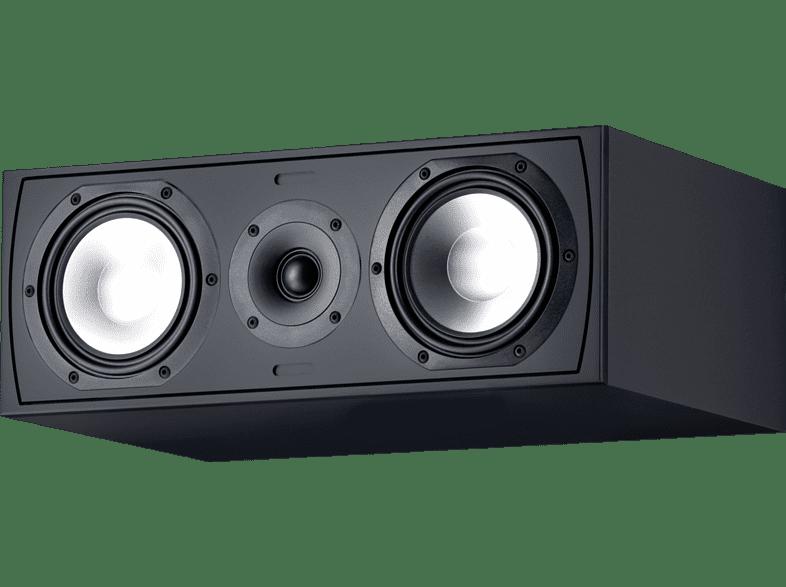 CANTON GLE 455.2 CM 1 Stück Center Lautsprecher (Passiv, Schwarz)