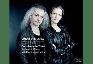 Dominique & Capella De La Torre Visse - Vinum Et Musica-Songs & Dances FR  - (CD)