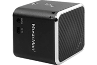TECHNAXX MusicMan Mini BT-X2 Dockingstation, Schwarz