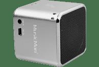 TECHNAXX MusicMan Mini BT-X2 Dockingstation, Silber