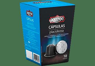 Cápsulas monodosis - Oquendo CP10PL PLACIDEZZA, Pack de 10 cápsulas para 10 tazas, Compatible con