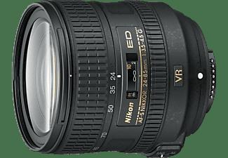 NIKON AF-S 24-85mm F/3,5-4,5G ED VR 24 mm - 85 mm f/3.5-5.6 AF-S, ED, VR (Objektiv für Nikon F-Mount, Schwarz)