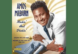 Amos Milburn - Rockin'And Drinkin  - (CD)