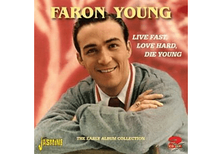 Faron Young - LIVE FAST, LOVE HARD,..  - (CD)