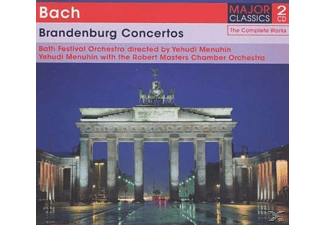 Robert Masters Chamber Orchestra - Brandenburg Concertos  - (CD)