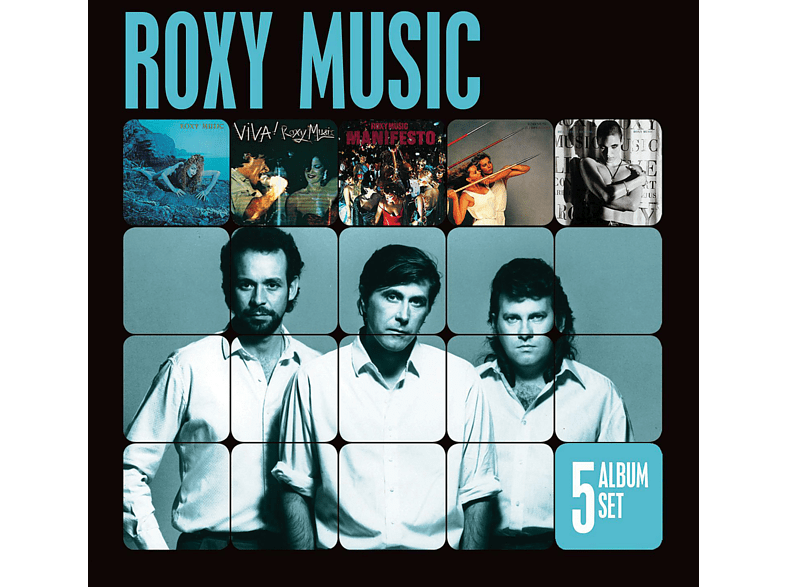 Roxy Music - 5 Album Set [CD]