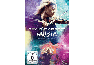 David Garrett - MUSIC LIVE IN CONCERT  - (Blu-ray)