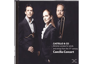 Caecilia Concert - Castello & Co - Venetian Sonatas For Winds And Strings From The 17th Century  - (CD)