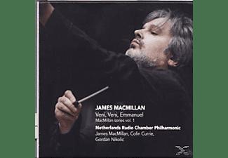 Colin Currie, Gordan Nikolic, Netherlands Radio Chamber Philharmonic - Veni, Veni, Emmanuel - MacMillan Series Vol. 1  - (CD)