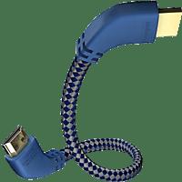 IN AKUSTIK 0042508 Premium HDMI gewinkelt 8000 mm HDMI Kabel