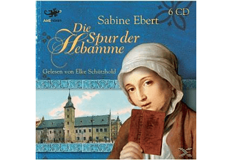 Sabine Ebert - Die Spur der Hebamme  - (CD)