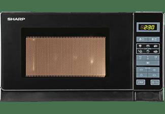 SHARP R-242BKW Mikrowelle (800 Watt)