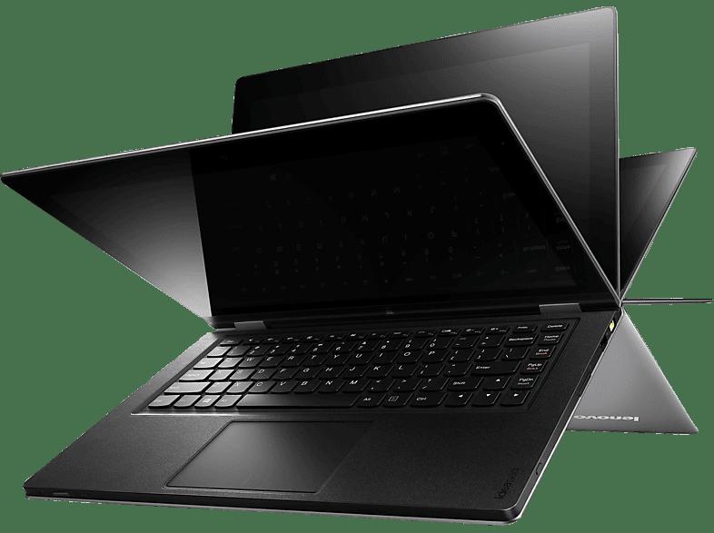 LENOVO IdeaPad® Yoga 13 MAM4AGE, Ultrabook mit 13.3 Zoll Display, Core™ i5 Prozessor, 8 GB RAM, 128 GB SSD, HD-Grafik 4000, Silber