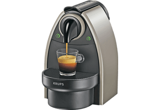 Cafetera de cápsulas Nespresso - Krups XN2140 P4 Essenza Arena, Presión de 19 bares, Automática