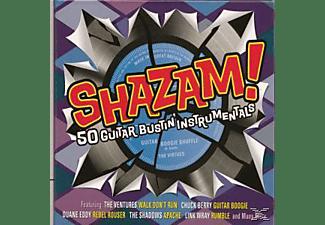 VARIOUS - Shazam!-50 Guitar Bustin' Instrumentals  - (CD)
