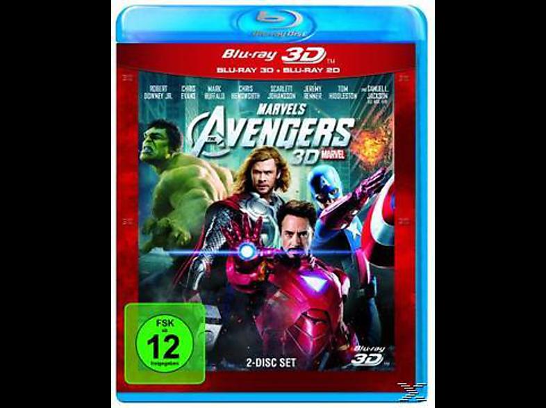 Marvel's The Avengers [3D Blu-ray (+2D)]