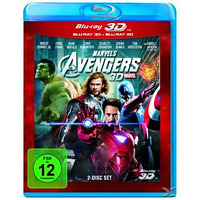 Marvel's The Avengers [3D Blu-ray (+2D)]
