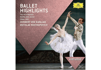 Berliner Philharmoniker, Boston Symphony Orchestra, Gothenburg Symphony Orchestra, Russian National Orchestra, Royal Conbertgebouw Orchestra, Orchestra Of The Royal Opera House - Ballett Highlights - (CD)