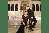 Mertens/Rohn - Biblische Lieder/Orgelsonate fis-moll [CD]