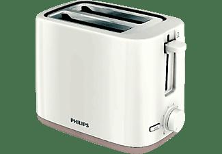 Tostador - Philips HD2595 Capacidad para 2 tostadas, 4 funciones en 1, 7 niveles de tostado