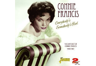 Connie Francis - EVERYBODY S SOMEBODY S  - (CD)