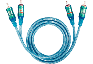 OEHLBACH Ice Blue 100 NF Audio-Cinchkabel 1m Audio Kabel, Blau