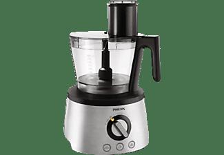 PHILIPS HR 7778/00 Kompaktküchenmaschine Schwarz (Rührschüsselkapazität: 2,4 Liter, 1300 Watt)