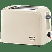SIEMENS TT3A0107 Toaster Creme/Dunkelgrau (980 Watt, Schlitze: 2)