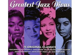 VARIOUS - Great Jazz Divas  - (CD)