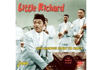 Little Richard - SHE KNOWS HOW TO ROCK  - (CD)