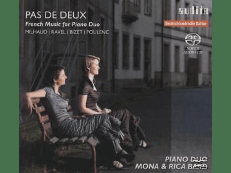 Klavieduo Mona & Rica Bard, Mona u.Rica Bard - Französische Musik Für Klavierduo [SACD Hybrid]