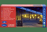 KONSTSMIDE 2733-102 Eisregen LED Lichtervorhang,  Weiß,  Warmweiß