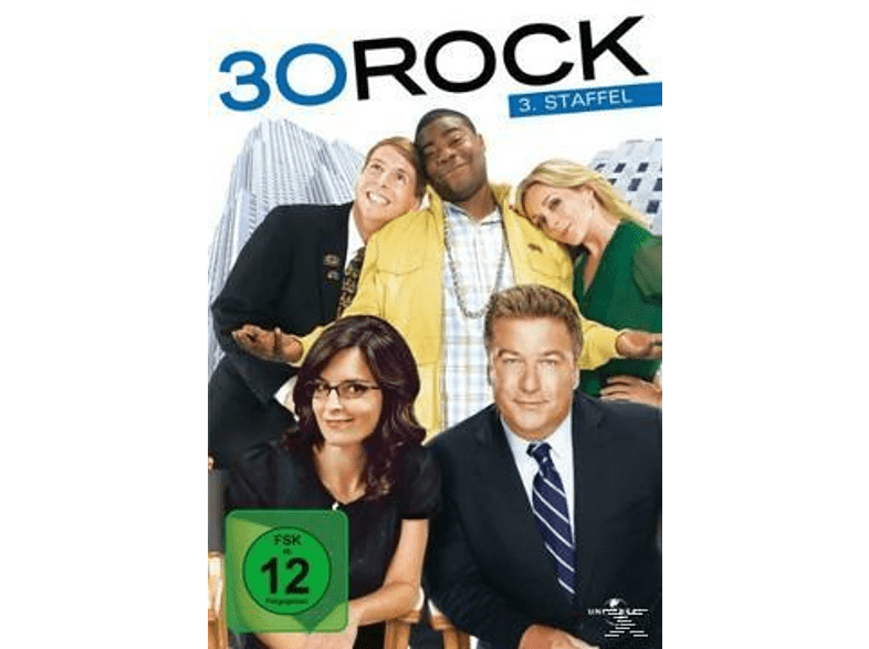 30 Rock - Staffel 3 [DVD]