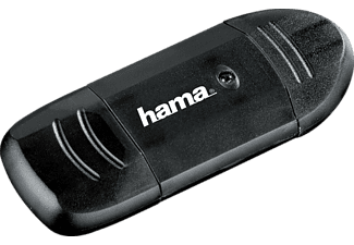 HAMA USB-2.0-SD-/MMC-Kartenleser, Anthrazit