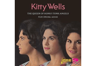 Kitty Wells - QUEEN OF HONKY TONK ANGELS  - (CD)