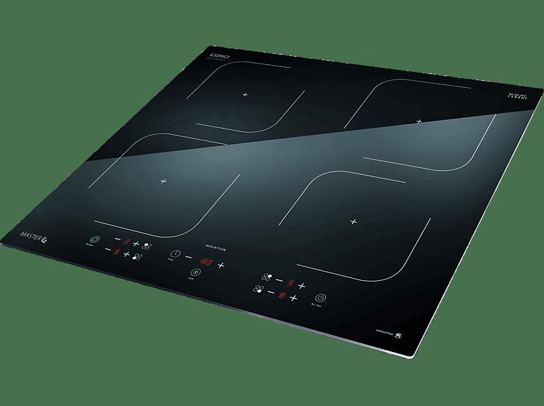 CASO Master E4, Induktions-Kochfelder (590 mm breit, 4)