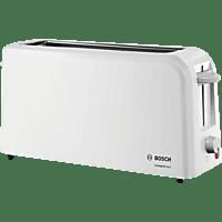 BOSCH TAT 3A 001 Toaster Hellgrau (980 Watt, Schlitze: 1)