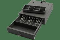 OLYMPIA Kleine Lade SD 324 Kleine Lade mit 3 fächer für Scheine, 8 Münzfächern zum herausnehmen. Ausführung in Kunststoff mit 2 Schlüsseln für 2 Positionen