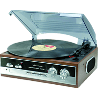 SOUNDMASTER PL186 Plattenspieler Holz