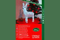 KONSTSMIDE 6158-203 Rentier LED Acryl,  Weiß,  Kaltweiß