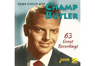 Champ Butler - DOWN YONDER WITH CHAMP BUTLER  - (CD)