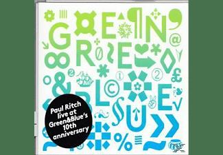 Paul Ritch - Live at Green & Blues 10th Ann  - (CD)