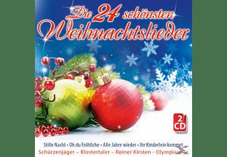 VARIOUS - Die 24 Schönsten Weihnachtslieder  - (CD)
