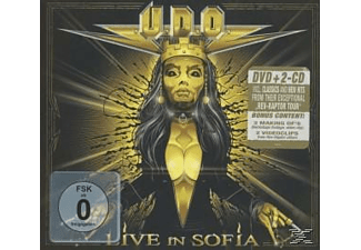 Udo - LIVE IN SOFIA (+2CD/DIGIPAK)  - (CD)