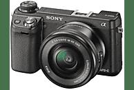 Cámara EVIL - Sony Alpha ILCE-6000YB Negro + 16-50mm y 55-210, WiFi, NFC