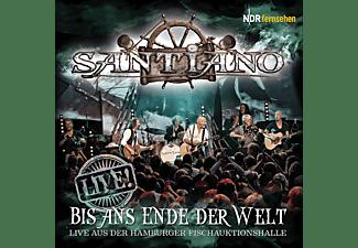 Santiano - Bis Ans Ende Der Welt-Live  - (CD)