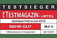 GASTROBACK 42410 Milchaufschäumer, Schwarz, 500 Watt, 1 l