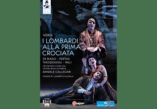 Cristina Giannelli, Orchestra E Coro Del Teatro Regio Di Parma, Pertusi Michele, Roberto De Biasio - I Lombardi  - (DVD)